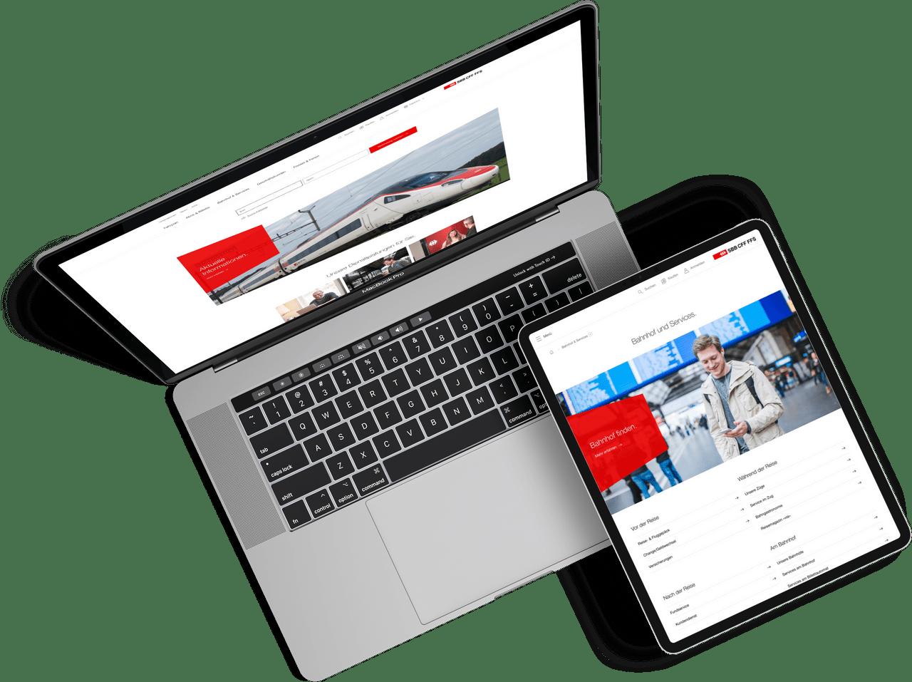 SBB Website Relaunch by One Inside