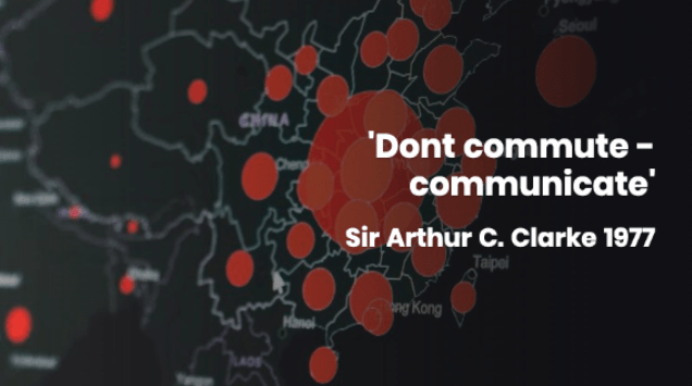 'Don't commute – communicate' – will it stick?