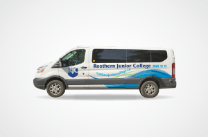 Rosthern Junior College Van Wrap