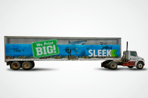 Sleek Signs Semi Trailer Wrap