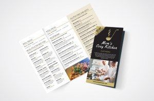 Moms Cozy Kitchen Menu