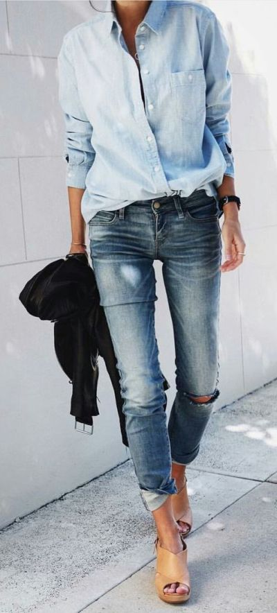 le total look jean