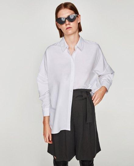 Chemise coton Zara