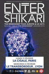 flyer enter shikari france