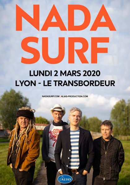 nada surf le transbordeur lyon eldorado atlas production