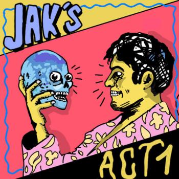 JAK'S act 1 EP grenoble garage rock power pop