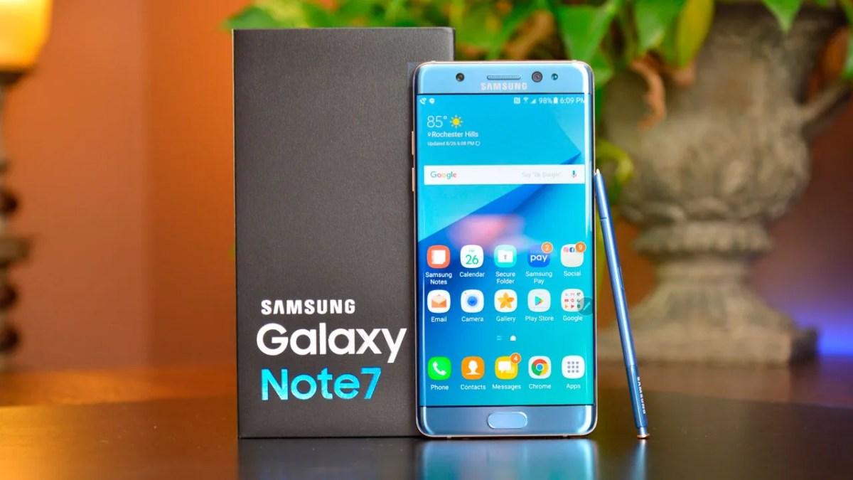 Samsung Galaxy Note FE sería el nuevo nombre del Samsung Galaxy Note 7