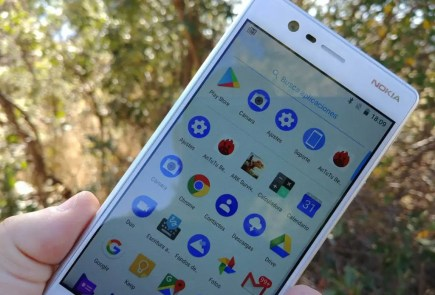 Nokia 3 analisis interfaz