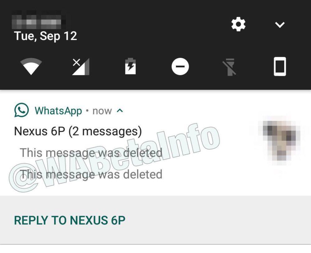 WhatsApp podría habilitar la eliminación de mensajes pronto