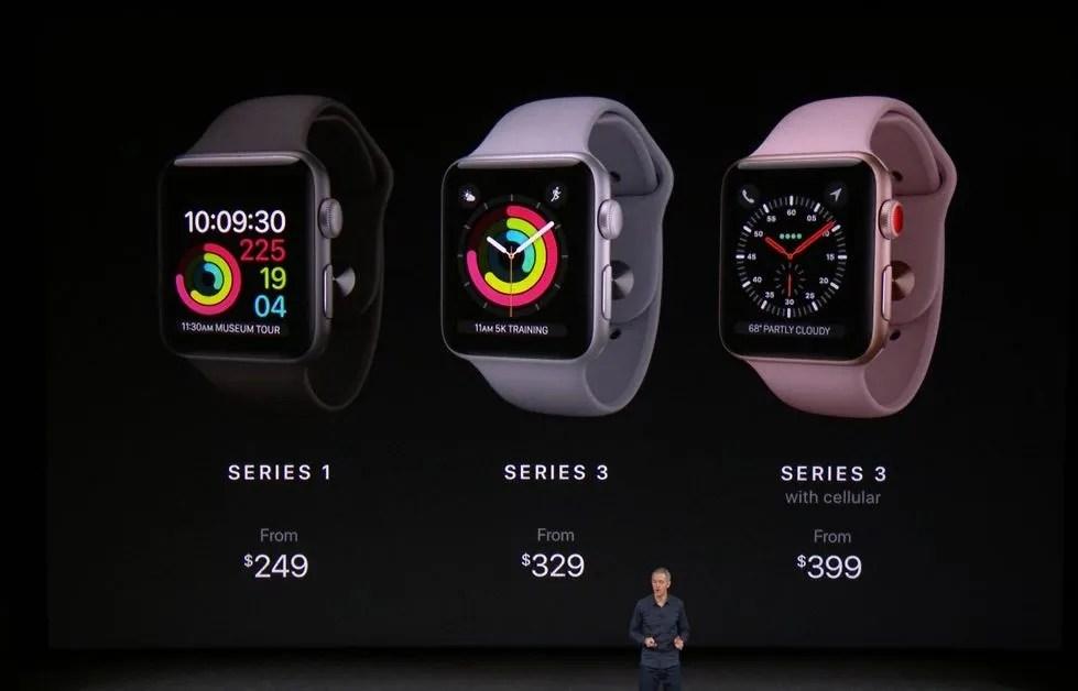 Apple Watch Series 3 Precios