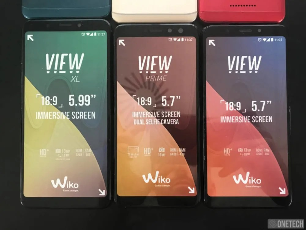 wiko view gama