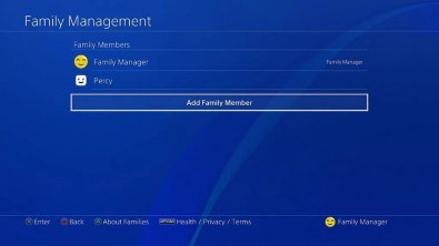 Playstation-4 Firmware-5.0-Cuenta-familiar