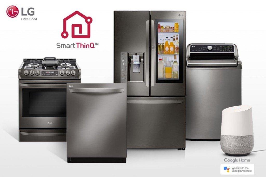 LG quiere un hogar conectado e inteligente a través de Google Assistant