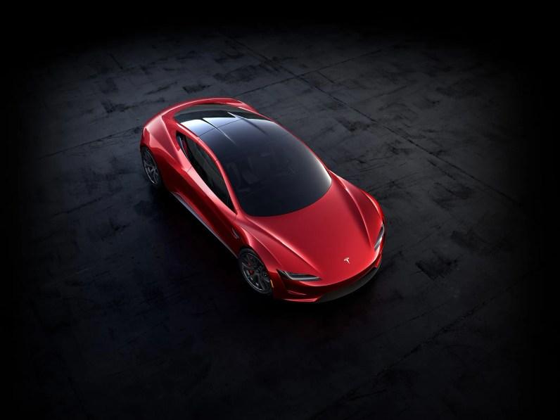 tesla roadster superior