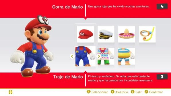 Super Mario Odyssey tienda 1