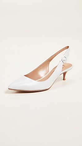 kitten–heel–white–shoe