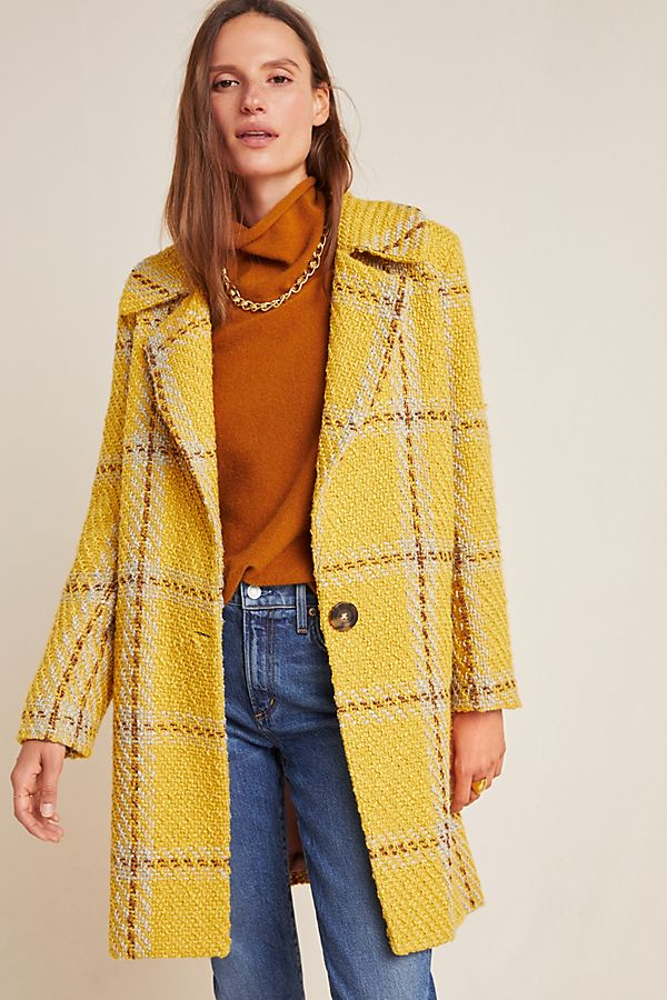 plaid–coat