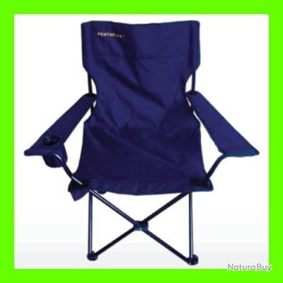 chaise pliante avec accoudoirs et housse de transport pour observation peche chasse camping
