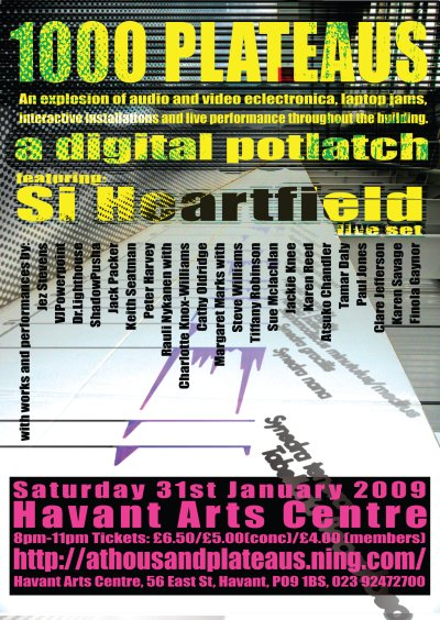 1000 Plateaus: digital potlatch 2009