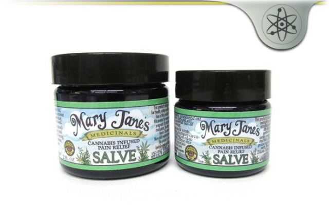 Mary Jane's Medicinals Massroots Pain Relief Salve
