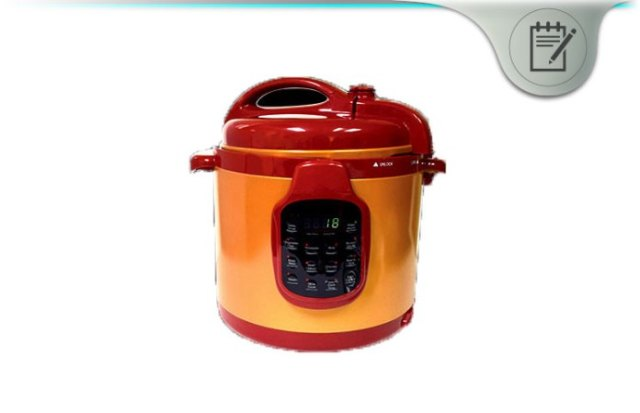 Red Copper Pressure Cooker
