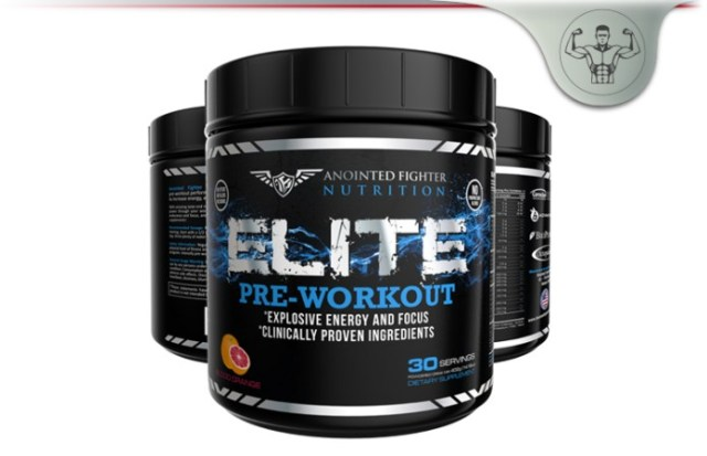 Anointed Fighter Elite Pre-Workout
