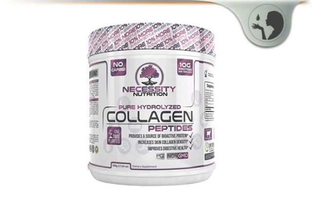 Necessity Nutrition Pure Hydrolyzed Collagen Peptides