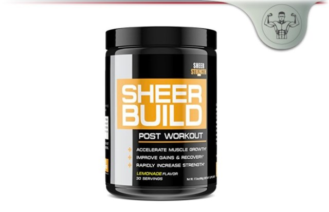 Sheer BUILD Post-Workout Supplement