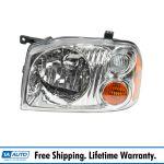 Headlight Headlamp Lh Left Driver Side For 01 04 Nissan Frontier Xe Pickup Truck Ebay