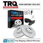 Front Ceramic Brake Pad Performance Drilled Slotted Coated Rotor New Car Truck Brake Discs Rotors Hardware Motors Tamerindsa Com Ar
