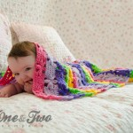 One and Two Company - Spring Flowers Blanket - Free Crochet Pattern