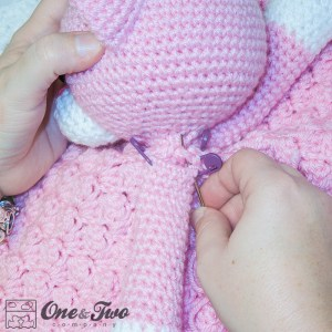 One and Two Company - Sewing the Parts on a Lovey Tutorial