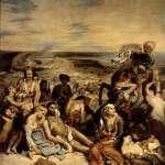 希阿岛的屠杀·德拉克洛瓦
