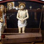 为神秘留出余地——布尔邦祭坛画 by 普罗旺斯匿名画家