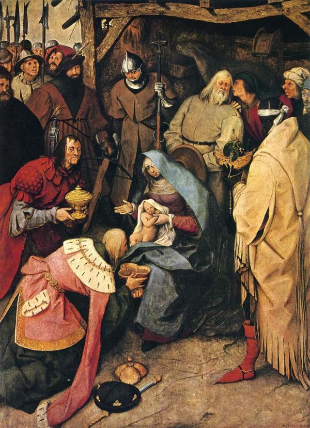 the-adoration-of-the-kings bruegel elder