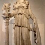 帕台农神庙的雅典娜