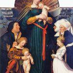 圣母、圣婴和市长一家·小霍尔拜因