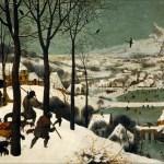 雪中猎人·勃鲁盖尔