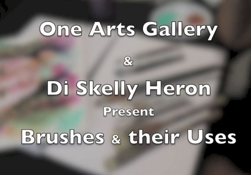 Free Online Workshop: Di Skelly Heron - How To Use Paint Brushes