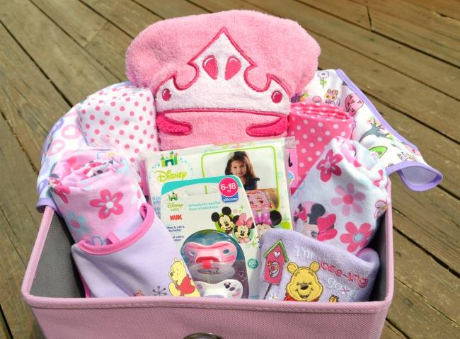 Disney Baby Girl Gift Basket