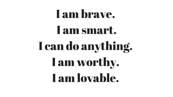 image relating to Printable Positive Affirmations named 20 Beneficial Affirmations For Little ones - In direction of Allow and Practice