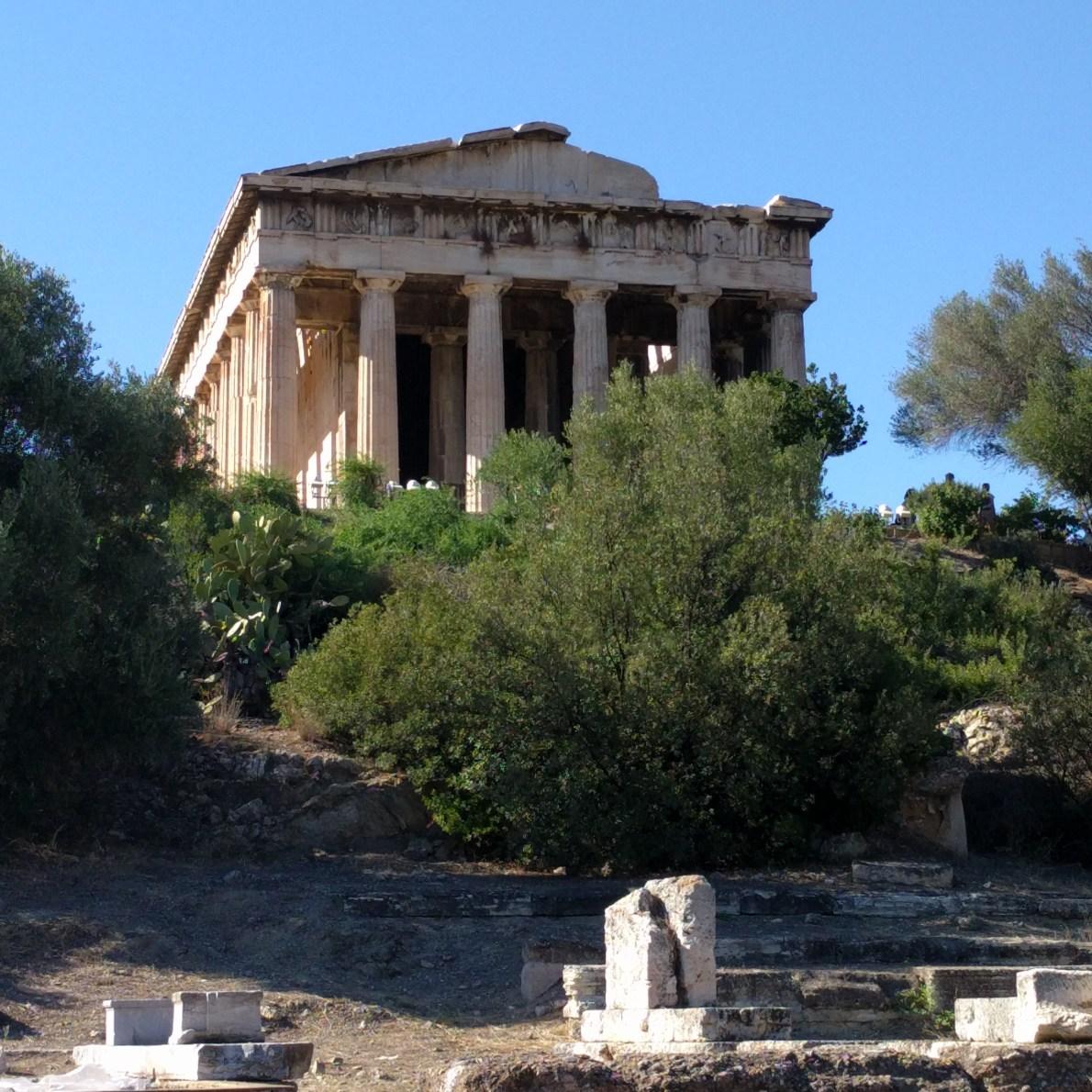 Temple of Hephaestus-Agora of Athens
