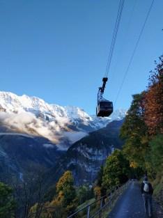 Gondola-Mürren, Switzerland