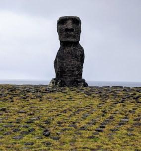 First look Moai- Ahu Nao-Nao-Anakena Beach Rapa Nui (Easter Island)