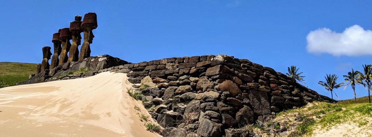 Ahu Nao-Nao-Anakena Beach Rapa Nui (Easter Island)Rano