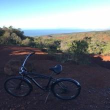 Cycling the Waimea Canyon