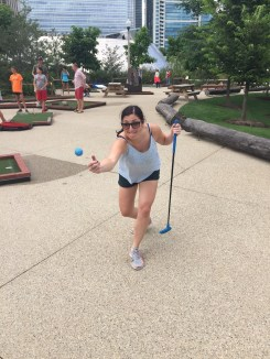 Crazy golf in Chicago
