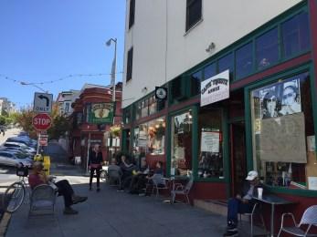 North Beach - the Italian neighborhood