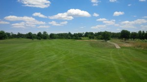 The 5th hole is a reachable par 5 with an elevated, crowned, super-shallow green that rewards only the long hitter that can stop their ball on the green.