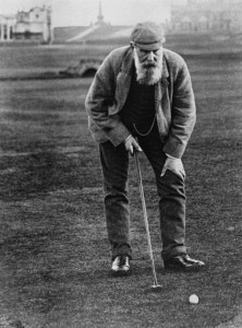 Rare, actual footage of the OneBeardedGolfer Wednesday morning after playing 36 holes a day on Monday and Tuesday.